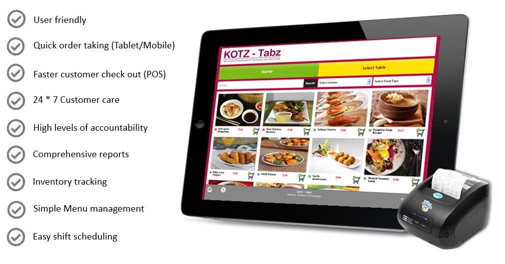 Why dkatia restaurant software, Kochi, Kerala