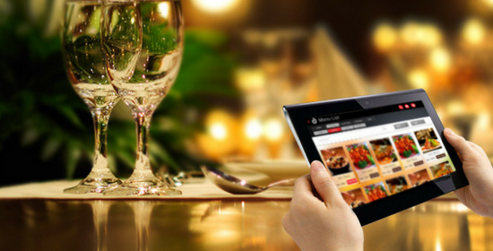 tablet-ordering - restaurant erp by dkatia software company. Kochi, Kerala